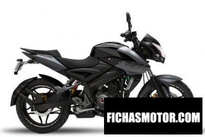 Ficha técnica Kawasaki Rouser 200NS 2020