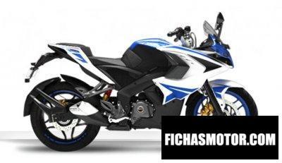 Ficha técnica Kawasaki Rouser RS200 2020