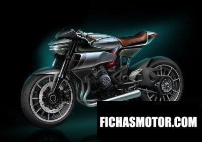 Imagen moto Kawasaki sc-02 soul charger año 2016