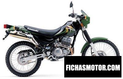 Imagen moto Kawasaki super sherpa año 2010