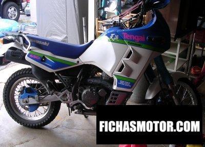 Imagen moto Kawasaki tengai año 1991
