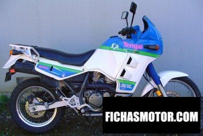 Imagen moto Kawasaki tengai año 1992