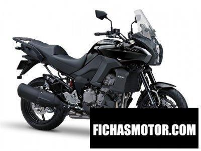 Imagen moto Kawasaki versys 1000 año 2014