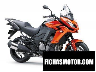 Ficha técnica Kawasaki versys 1000 2015