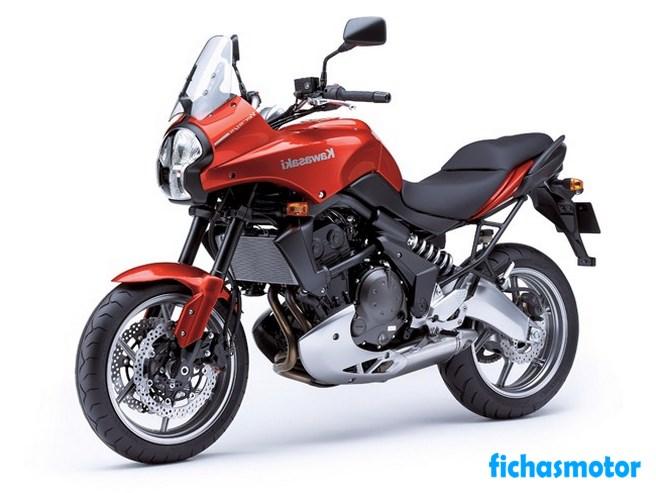 Imagen moto Kawasaki versys año 2007