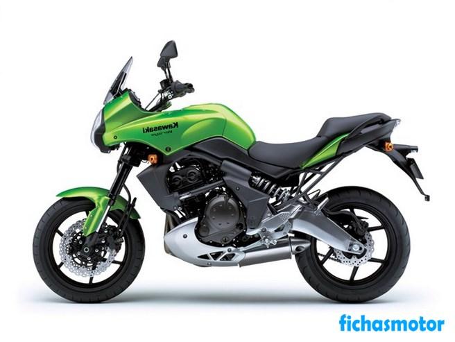 Imagen moto Kawasaki versys año 2008