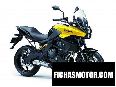 Imagen moto Kawasaki versys año 2014
