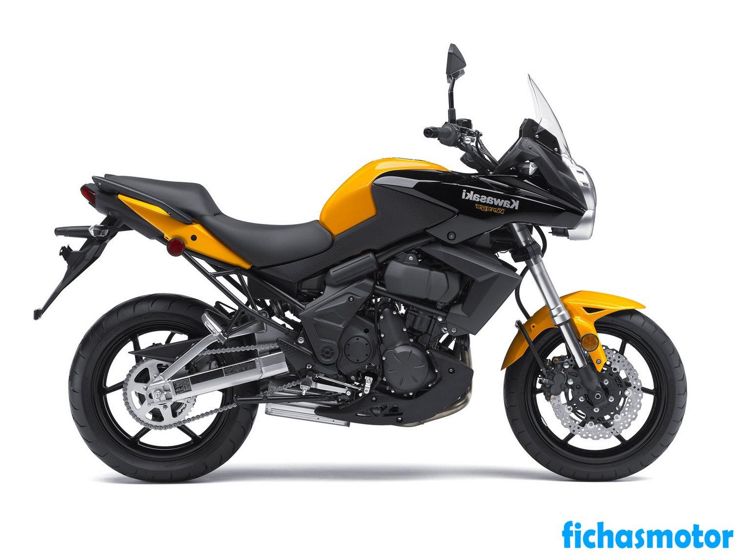Ficha técnica Kawasaki versys 650 2012