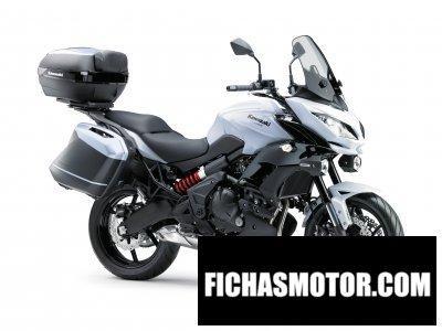 Ficha técnica Kawasaki versys 650 2015