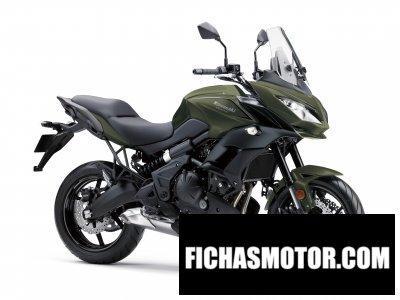 Imagen moto Kawasaki versys 650 abs año 2018