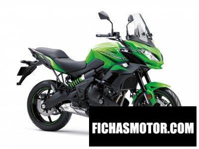 Imagen moto Kawasaki Versys 650 ABS año 2019