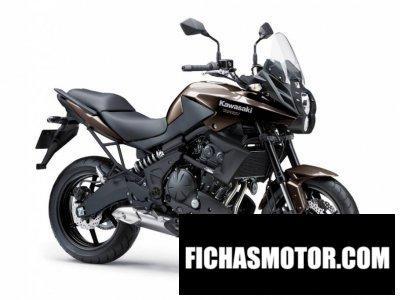 Ficha técnica Kawasaki versys 650l abs 2013