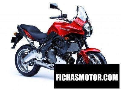Imagen moto Kawasaki versys abs año 2007