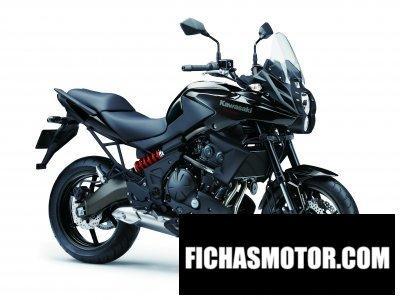 Imagen moto Kawasaki versys abs año 2014