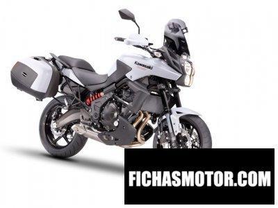 Imagen moto Kawasaki versys tourer año 2014