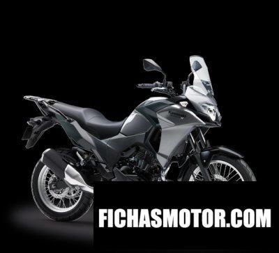 Ficha técnica Kawasaki versys-x 250 city 2018
