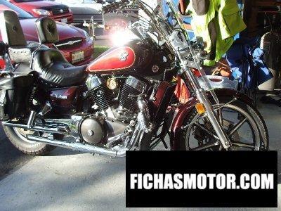 Imagen moto Kawasaki vn-15 año 1988
