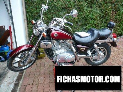 Imagen moto Kawasaki vn-15 año 1989