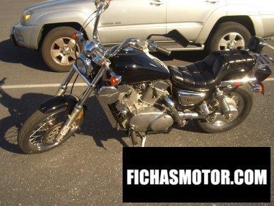 Imagen moto Kawasaki vn-15 se año 1990