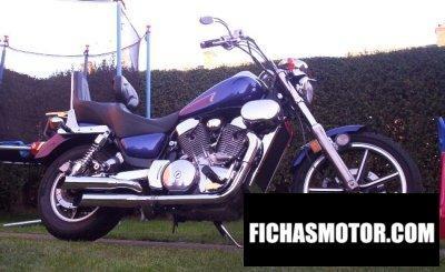 Imagen moto Kawasaki vn-15 se año 1992