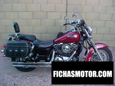Imagen moto Kawasaki vn 1500 Classic año 1997