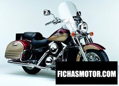 Imagen moto Kawasaki vn 1500 Classic tourer fi año 2004