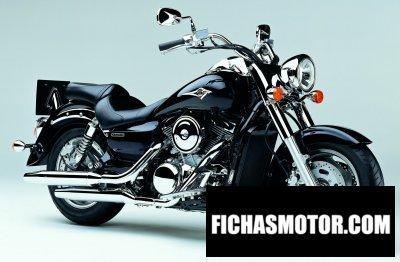Imagen moto Kawasaki vn 1600 Classic año 2004