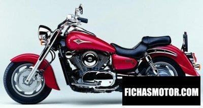 Ficha técnica Kawasaki vn 1600 Classic fi 2003