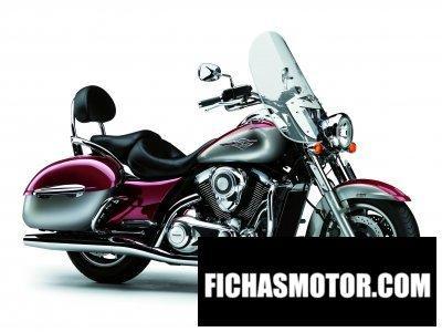 Ficha técnica Kawasaki vn 1700 Classic tourer 2012
