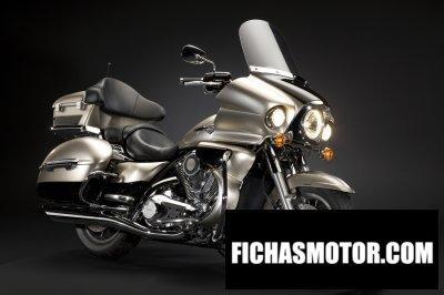 Imagen moto Kawasaki vn 1700 voyager año 2009