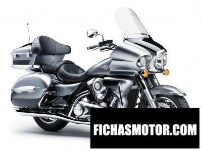 Imagen moto Kawasaki vn 1700 voyager año 2010