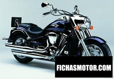 Ficha técnica Kawasaki vn 2000 (vn2000-a1) 2004