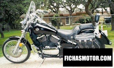 Imagen moto Kawasaki vn 800 vulcan año 1995