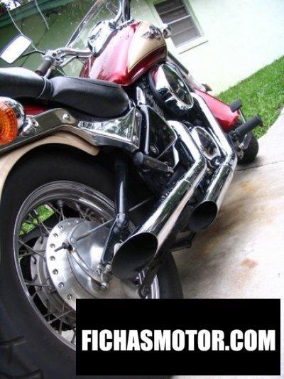 Imagen moto Kawasaki vn 800 vulcan año 2000