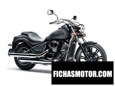 Imagen moto Kawasaki vn 900 año 2010
