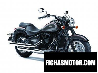 Ficha técnica Kawasaki vn 900 Classic 2014