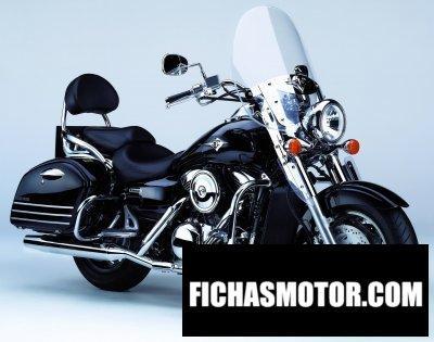 Imagen moto Kawasaki vn vulcan 1600 Classic tourer año 2006