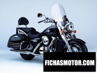 Ficha técnica Kawasaki vn1600 Classic tourer 2007