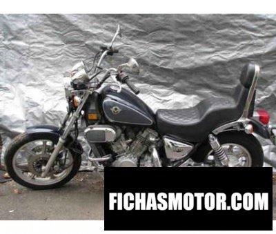 Ficha técnica Kawasaki vn750-a9 vulcan 750 1993