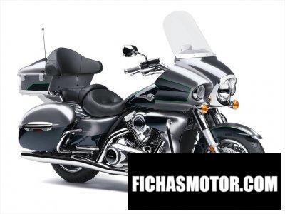 Ficha técnica Kawasaki Vulcan 1700 ABS Voyager 2020