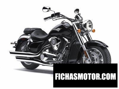 Ficha técnica Kawasaki vulcan 1700 Classic 2014