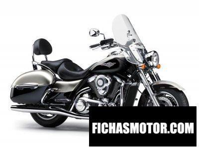 Imagen moto Kawasaki vulcan 1700 nomad año 2015