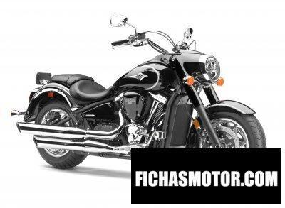 Imagen moto Kawasaki vulcan 2000 año 2008