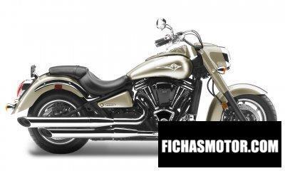 Imagen moto Kawasaki vulcan 2000 año 2009