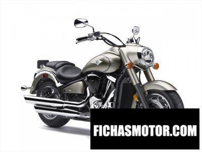 Imagen moto Kawasaki vulcan 2000 año 2010