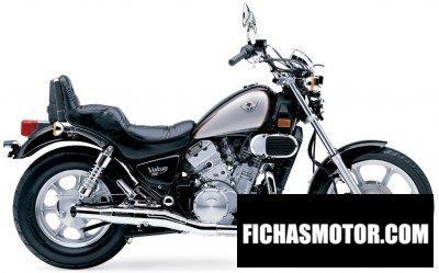 Imagen moto Kawasaki vulcan 750 año 2005