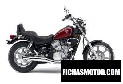 Imagen moto Kawasaki vulcan 750 año 2006