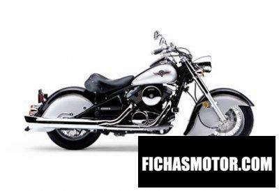 Imagen moto Kawasaki vulcan 800 drifter año 2006