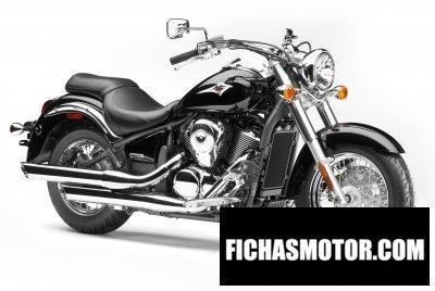 Imagen moto Kawasaki vulcan 900 Classic año 2008