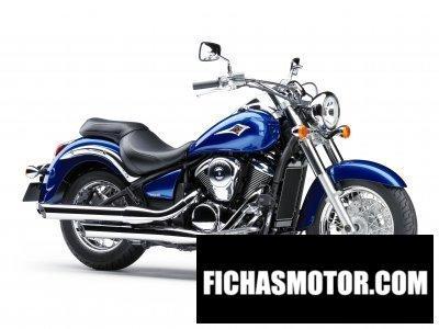 Imagen moto Kawasaki vulcan 900 Classic año 2010